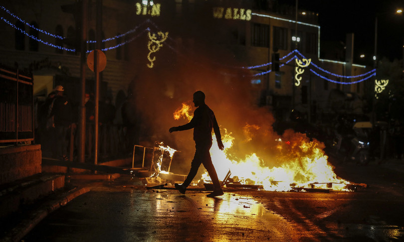 scontri palestinesi israeliani gerusalemme