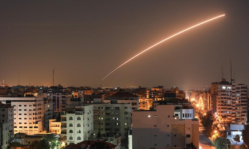 razzi Gaza esercito Israele contrattacca