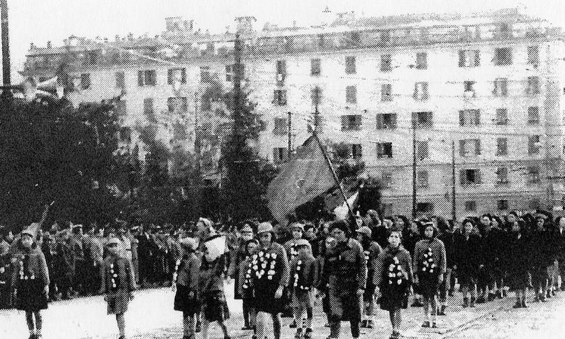 donne aiutarono liberare Genova Italia nazifascismo
