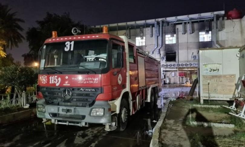 scoppia incendio ospedale covid iraq