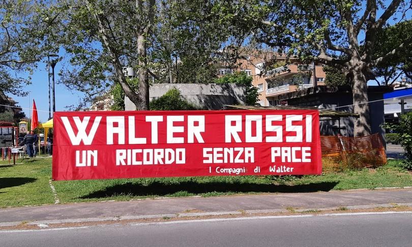 roma ricorda walter rossi restauro opera 25 aprile