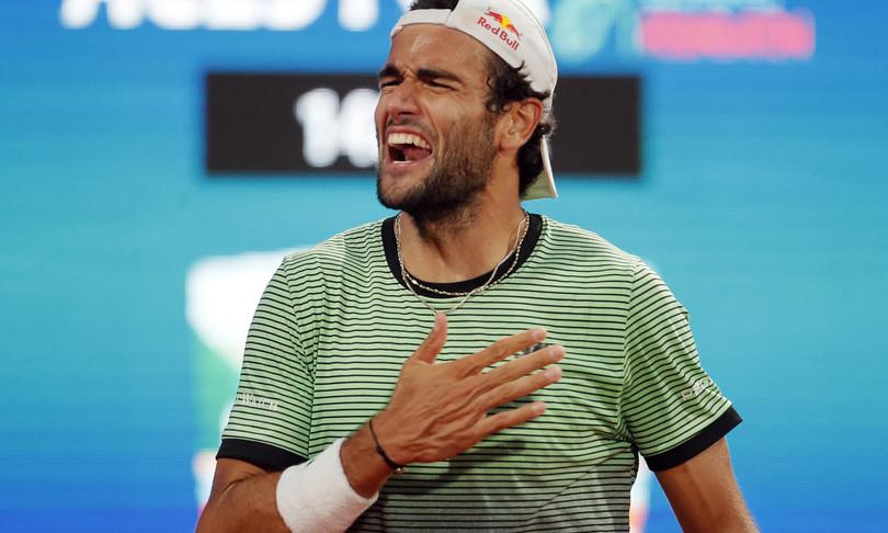 Matteo Berrettini vince Serbia Open