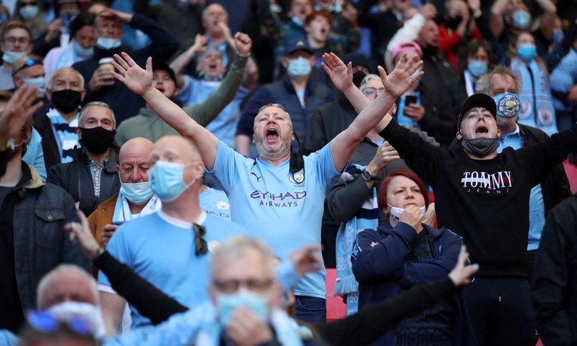 stadio Wembley tornati tifosi