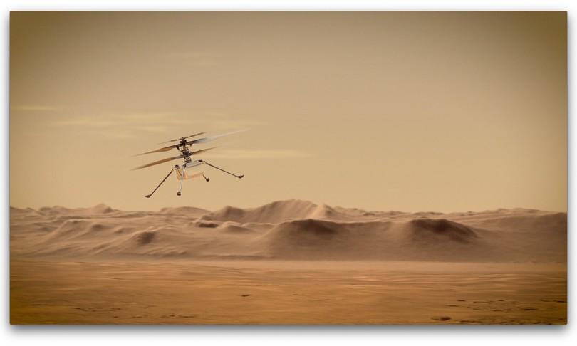 terzo volo Ingenuity Marte
