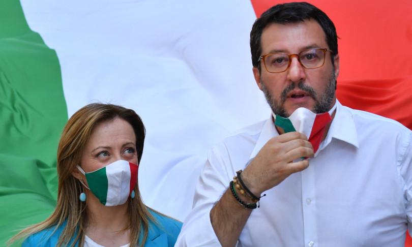 Meloni sfida Salvini votare ordine giorno contro coprifuoco