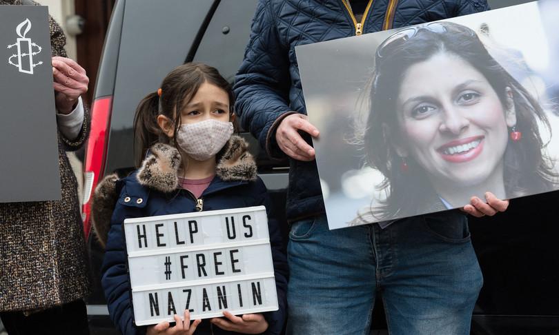 nuova condanna iran nazanin