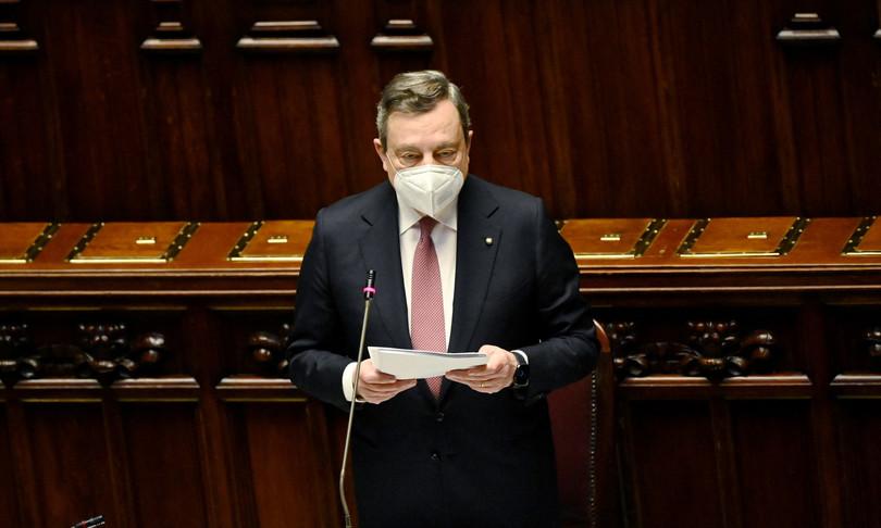 """Draghi """"Profondo rispetto per il Parlamento"""""""