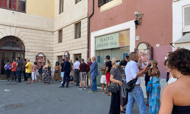 Covid Teatro Argentina Teatro India