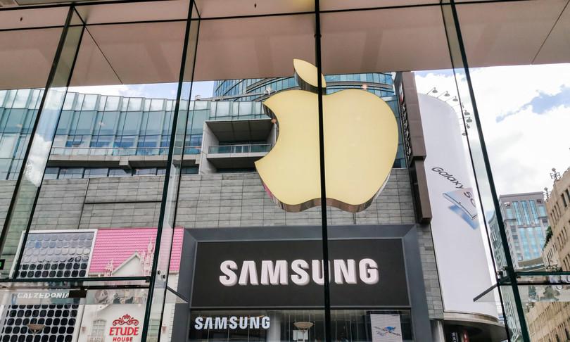 mercato europeo smartphone dominano samsung apple
