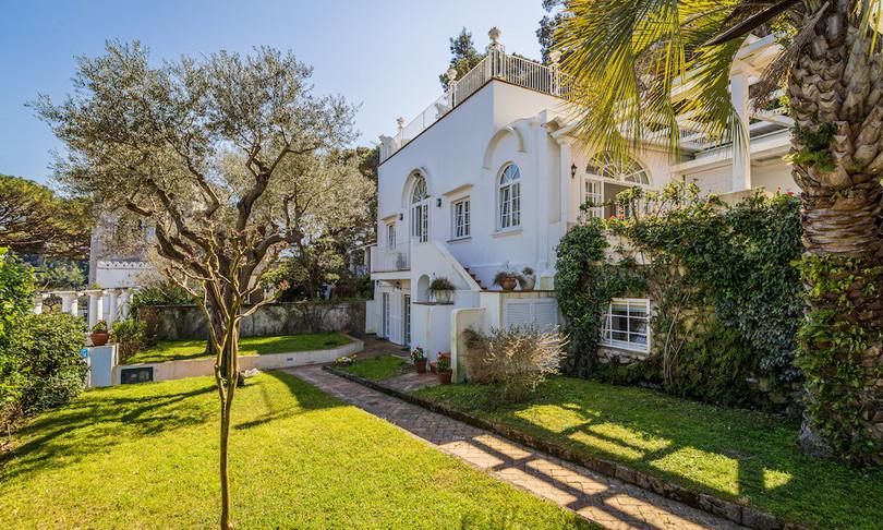 Capri vendita villa Cristian De Sica