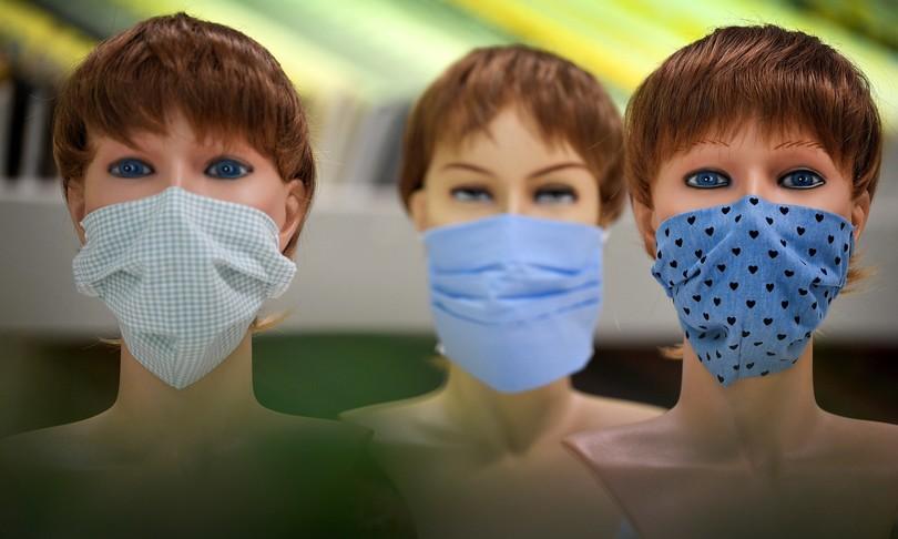 mascherine stoffa a tre strati efficaci come chirurgiche