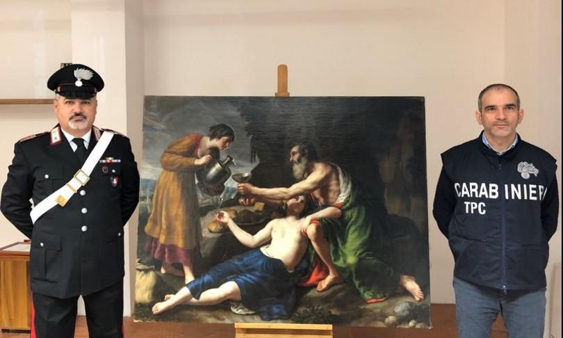 furti arte nel 2020 carabinieri recupero mezzomilionibeni