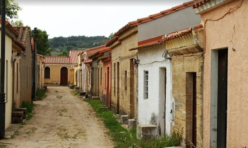 Sinis Oristanese borgo dimenticato western