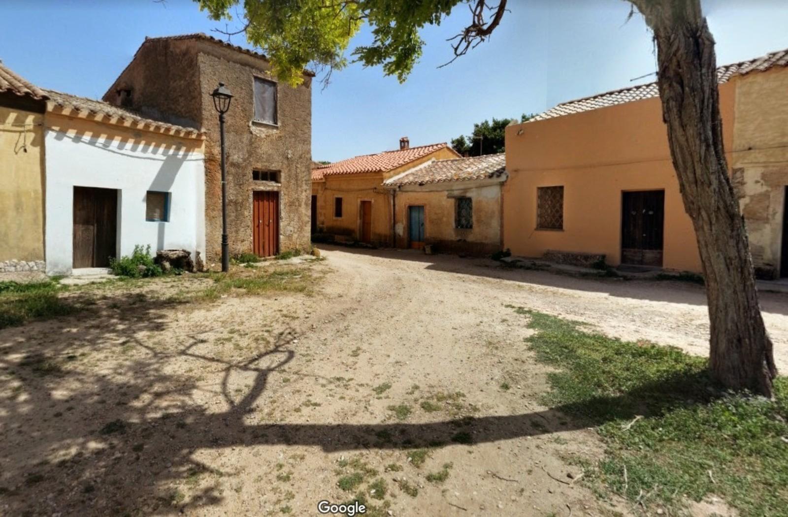 Il villaggio di San Salvatore, in Sardegna