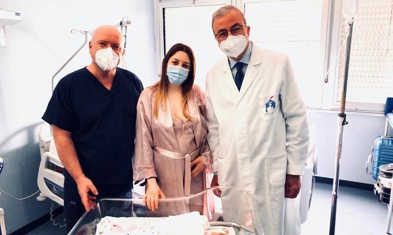 sanita Napoli parto emorragia cerebrale