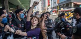 Il lockdown non ferma la protesta in Turchia, oltre 200 gli arresti