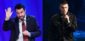 """La polemica sul """"concertone"""" tra Salvini e Fedez"""