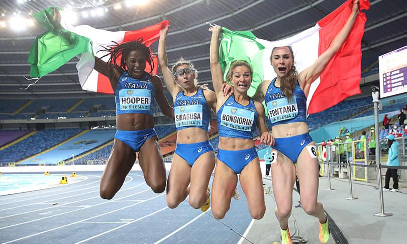 atletica leggera mondiale staffette