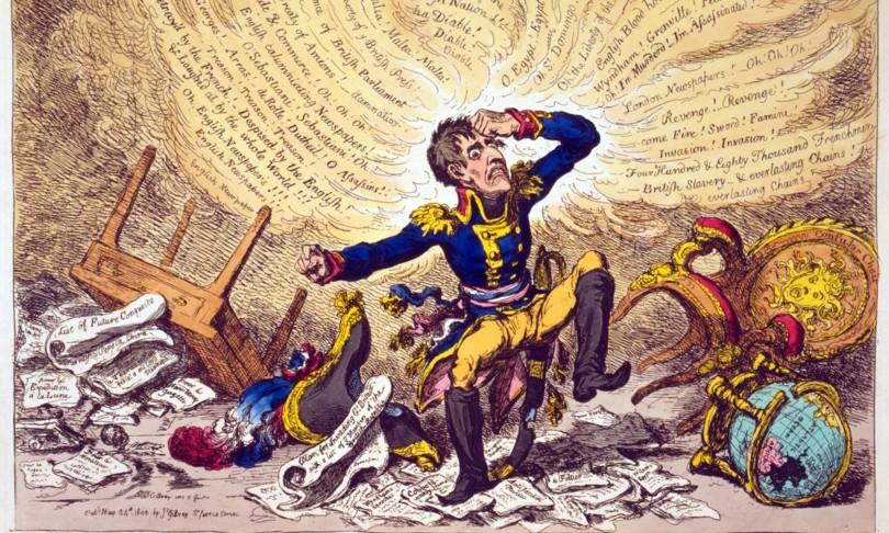 napoleone morte cultura pop caricature