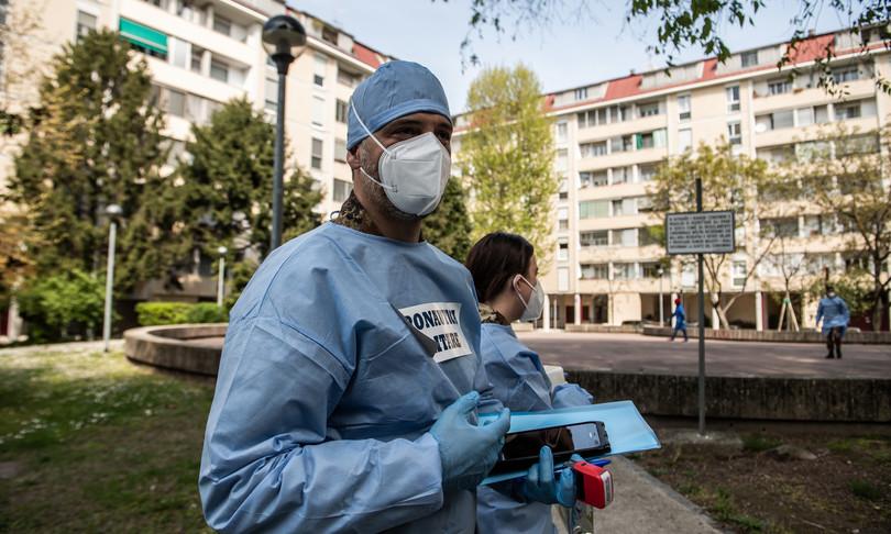allarme operatori sanitari vaccinatiricontagiano covid