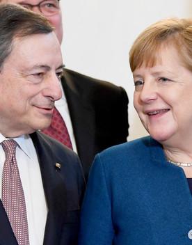 ColloquioDraghi-Merkelsulla lotta alla pandemia