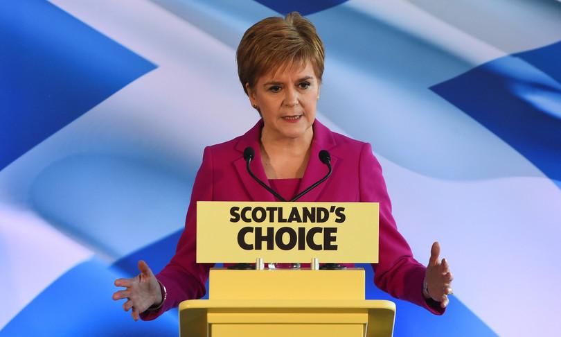 elezioni scoziareferendum indipendenza johnson