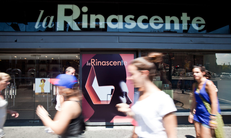 roma restyling rinascente piazza fiume