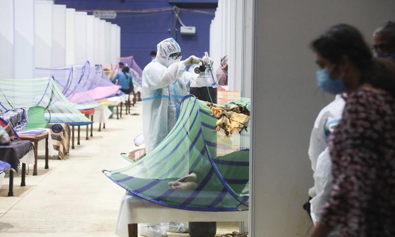 india contagi record morti