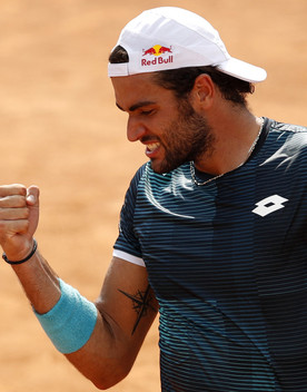 Internazionali di Roma:otto i tennisti italiani al via