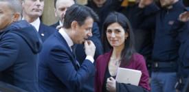 L'endorsement di Conte a Virginia Raggi e la sfida di Gualtieriper il Campidoglio