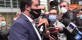 """Salvini: """"Per candidati alle amministrative necessario consenso di tutta la squadra centrodestra"""""""