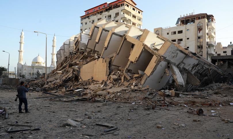 medioriente Israele razzi Gaza