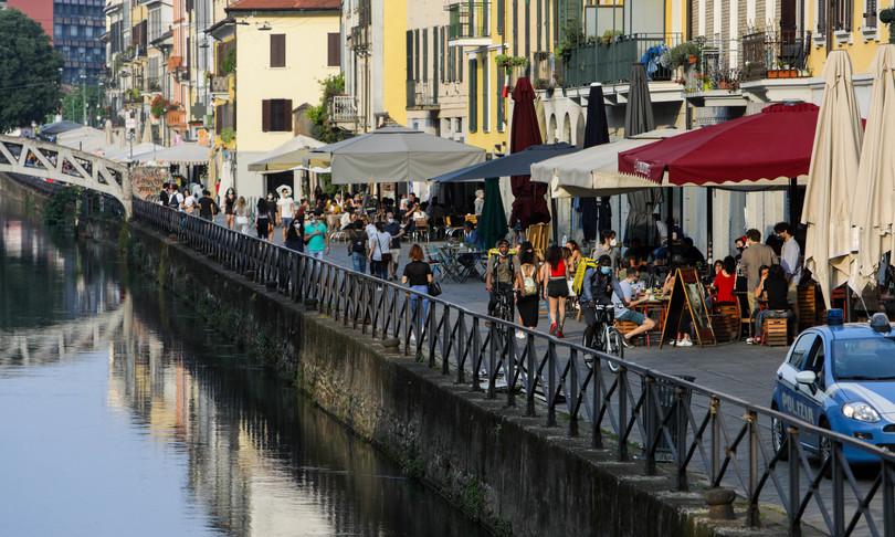covidverso Italia giallo tranne valle d'aosta