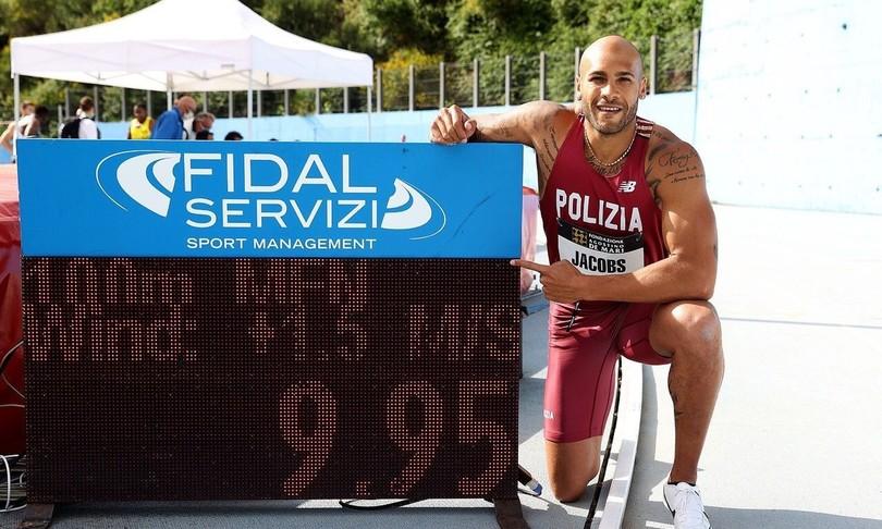 atleticajacobs record italiano 100 metri