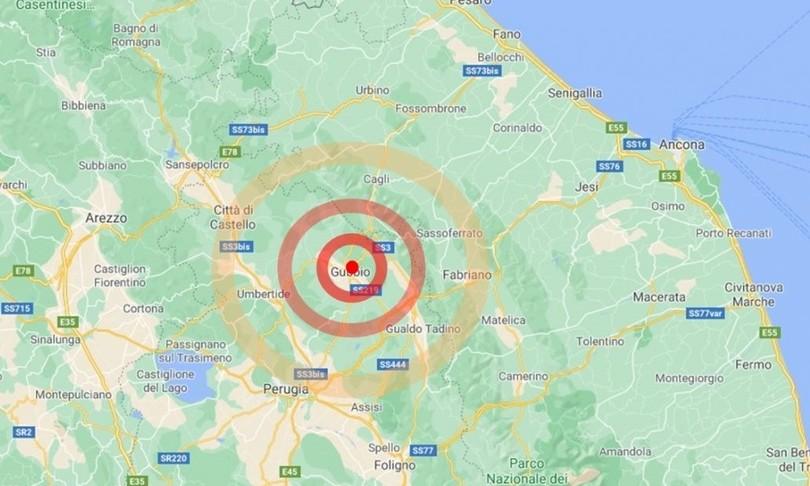 terremoto gubbio magnitudo 4