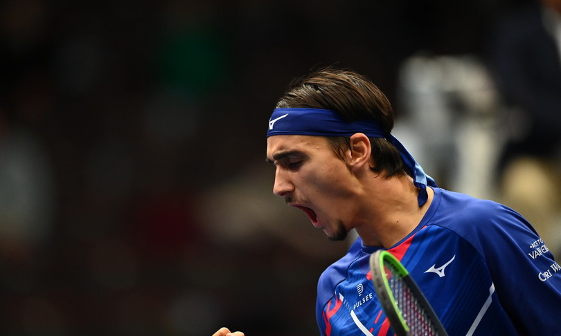 tennis sonego contro djokovic