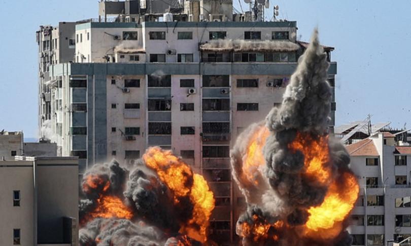 Gaza muore famiglia bombardamento israeliano