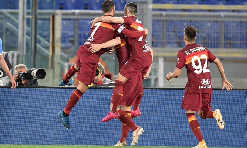 calcio roma vince derby lazio