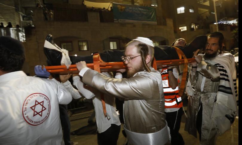 Israele sinagoga crollo insediamento morti