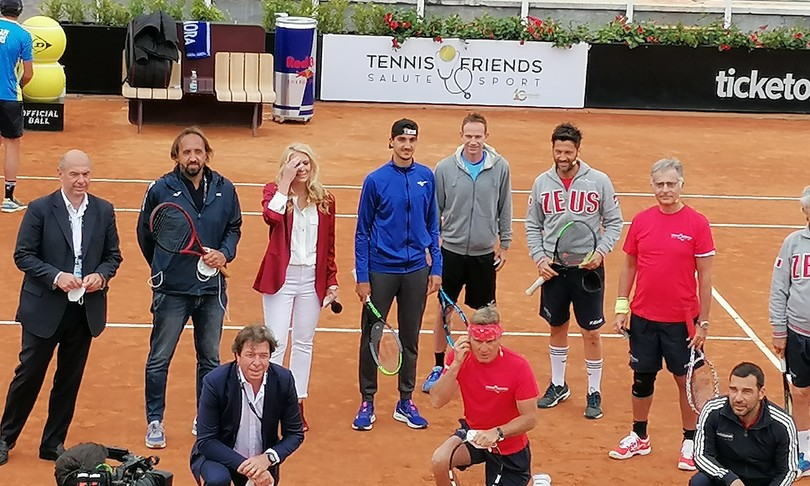 Salute Tennis friends associazione gaia screening