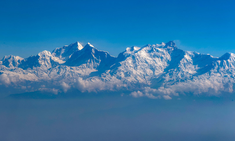 Scienza Himalaya caldo ghiacciai