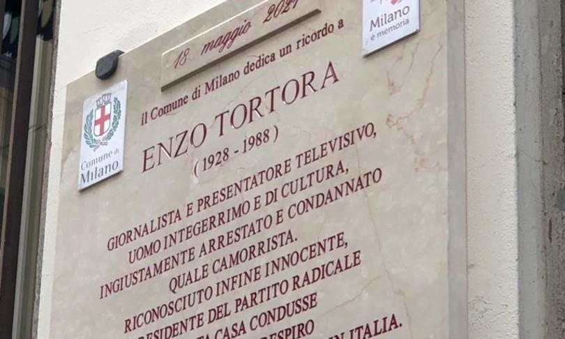 Milano targa Tortora