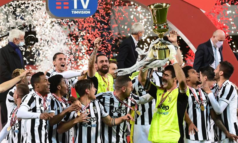 Coppa Italia festa Juve Atalanta battuta