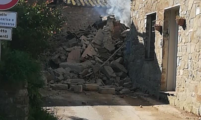 esplosione crollo casa greve in chianti prato