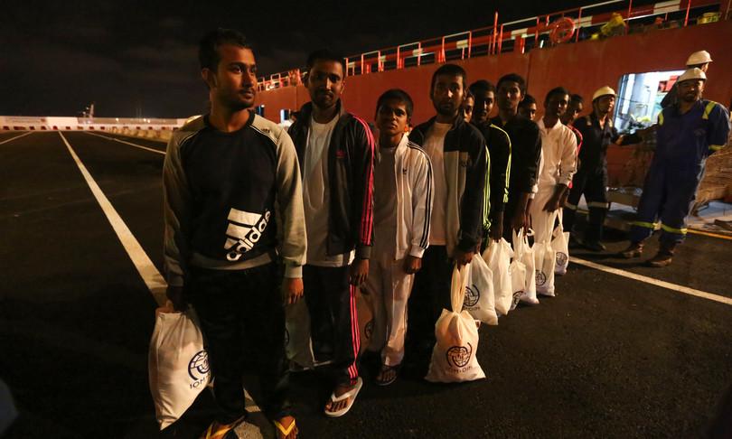 migranti ingressi rotte europa