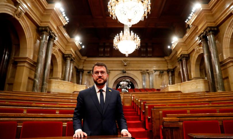 pere aragones volto moderato indipendentismo catalano