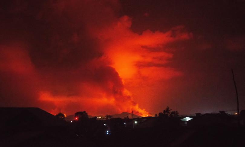 RD Congo eruzione Nyiragongo panico esodo