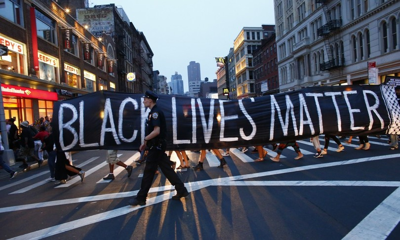 colpita alla testa gravissima attivistablack lives matter