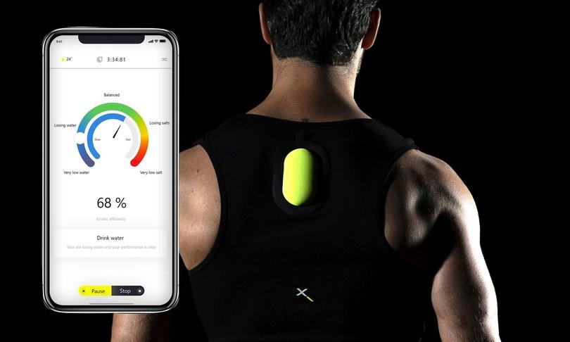 biosenzore swemax legge sudore atleti