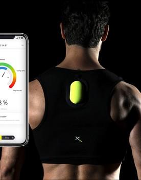 Il biosensore che legge il sudore degli atleti